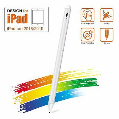 6th Gen White Mini Stylus Pen for Apple iPad with Palm Rejection 10.2-Inch 3rd Gen Rechargeable Uogic Stylus for Apple iPad 11//12.9 Inch Air iPad Pro iPad 5th Gen