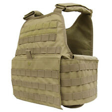 CONDOR MOLLE Operator Plate Carrier Body Armor Vest Chest Rig MOPC-003 TAN