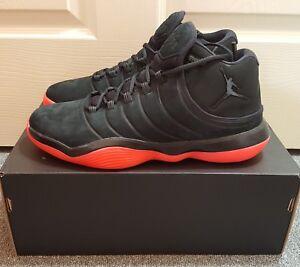 140 Jordan Super Fly 2017 Men s Black Infrared 23 Shoes Sz 10 ... 92ace096b96d