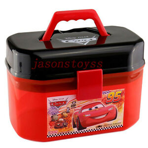 Image Is Loading Disney Car Lightning McQueen Suitcase Storage Box Loose