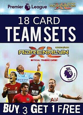 Panini Adrenalyn XL Liga Premier Everton conjunto completo de equipo de 18 Tarjetas