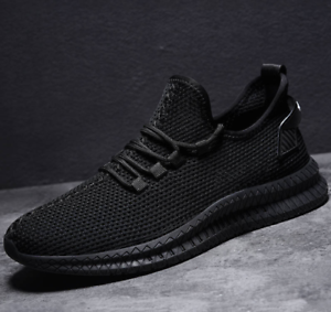 2019-Fashion-Men-039-s-Casual-Breathable-Sneakers-Running-Shoe-Sports-Athletic-Shoes