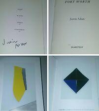 JUSTIN ADIAN SIGNED ART BOOK SCULPTURE Print Zine Og fine richard prince kaws