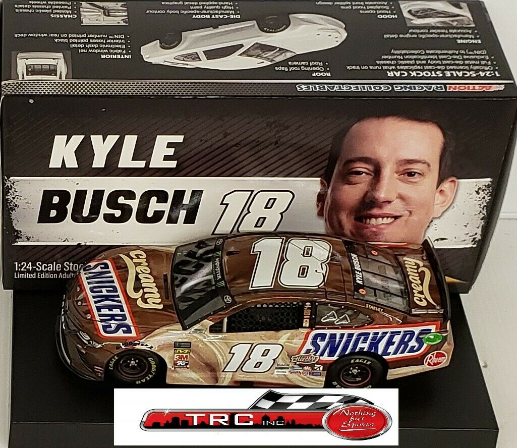 Kyle Busch 2019 Lionel  18 Creamy Snickers Toyota Camry 1 24 FREE SHIP