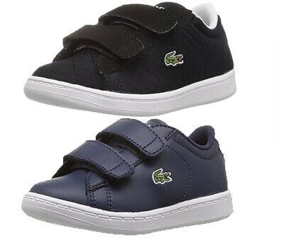 Toddler Lacoste Straightset H/&L Sneaker 7-32SPI0126001 White 100/% Original New