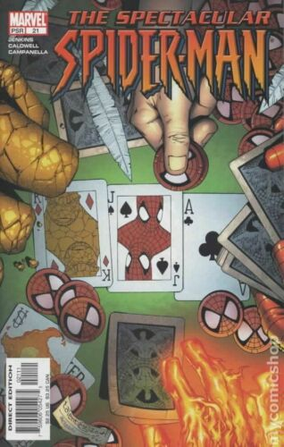 Spectacular Spider-Man #21 FN 2005 Stock Image
