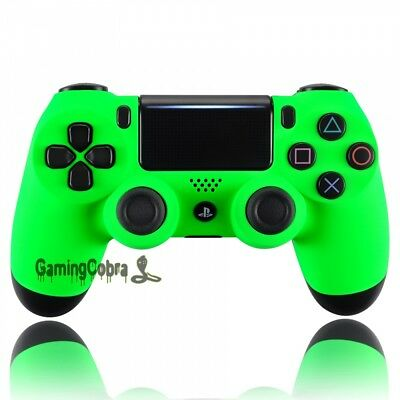 Neon Green Controller Custom Front Housing Shell for Sony