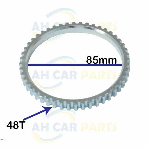 SAR 431 ABS RELUCTOR RING FOR PEUGEOT 206 CC SW   ID//85MM FRONT 98-09