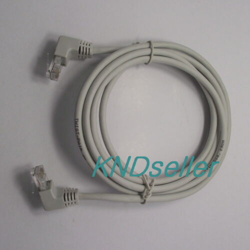 2m 6ft Right Angle 90 Degree Cat5e Utp Lan Cable 10//100 Ethernet Patch cat 5 NEW