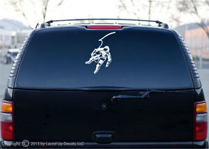 Astronaut Apollo Cool Space Car Window Decal Sticker EBay - Car window decal stickers