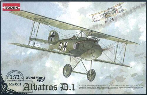 Roden 001-1:72 Albatros D.I World War 1 Neu