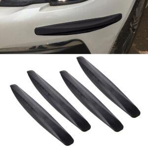 4x-Auto-SUV-Einstiegsleisten-Stossstange-Ecke-Guard-Schutzfolie-Aufkleber-Strips