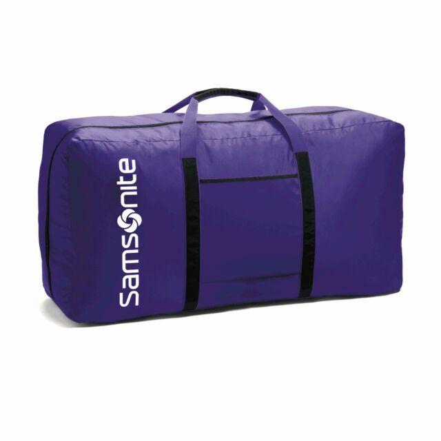 Travel Luggage Duffle Bag Lightweight Portable Handbag Purple Black Hole Large Capacity Waterproof Foldable Storage Tote