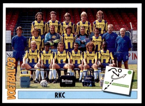247 Panini Voetbal �93 Netherlands Team RKC Teams PTT Telecompetitie No