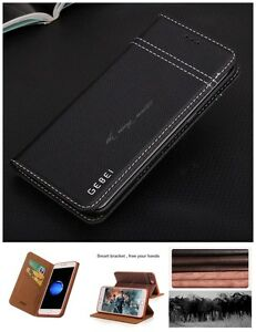Genuine-Real-Leather-Magnetic-Flip-Cover-Wallet-Case-For-iPhone-X-8-7-6-6S-Plus