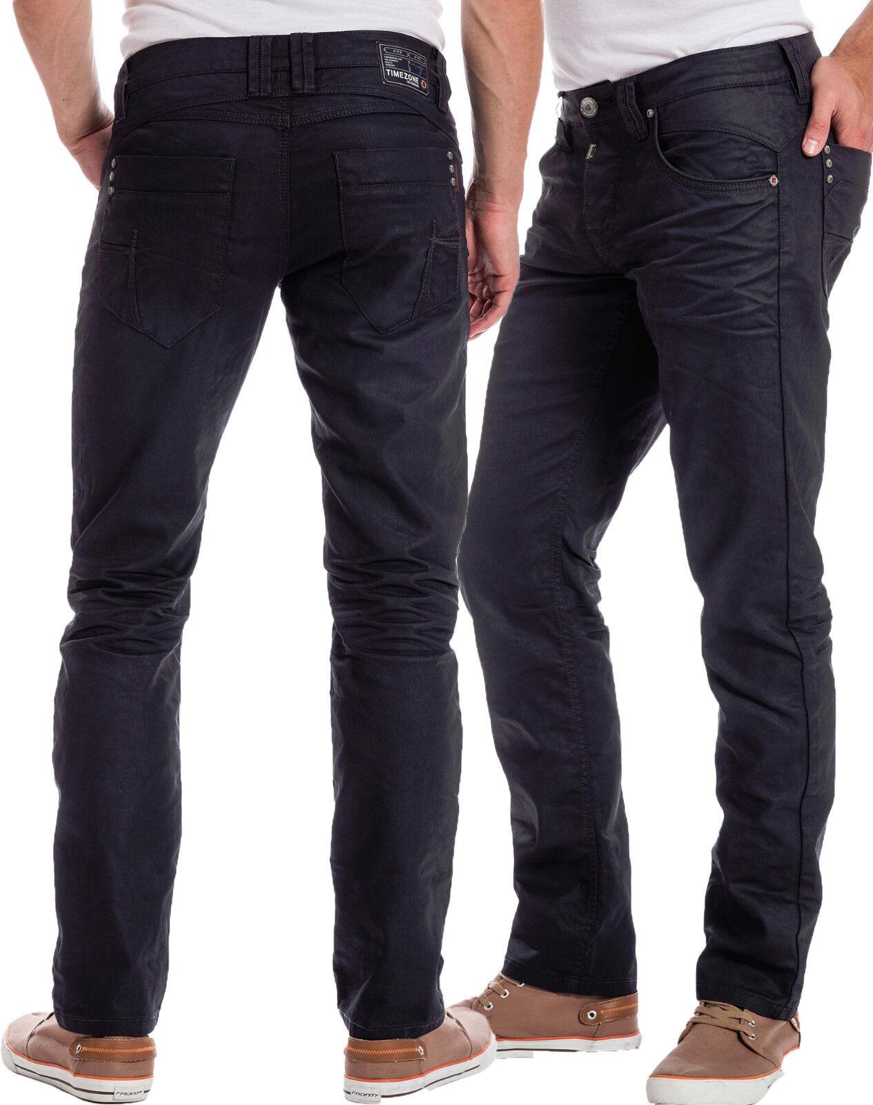 TIMEZONE Jeans Uomo Taylor 3452 dull WASH PANTALONI JEANS BLU SLIM FIT NUOVO