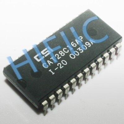 3PCS CAT28C16AP-20 CAT28C16AP 16-Bit CMOS Parallel E2PROM