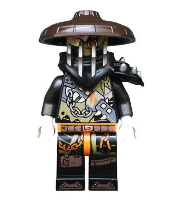 Minifigur Drache Drachenjäger Hunted Faith 70653 Heavy Metal LEGO Ninjago