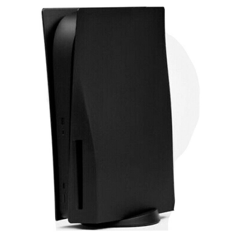 PlayStation 5 Black PS5 Face Plates Digital/Disc Drive Edition Shell Case Cover