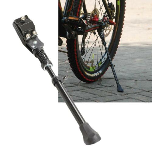 """Adjustable Aluminum Alloy Bike Kickstand Side Stand for 16/"""" 20/"""" 24/"""" 26/"""" Bicycle"""