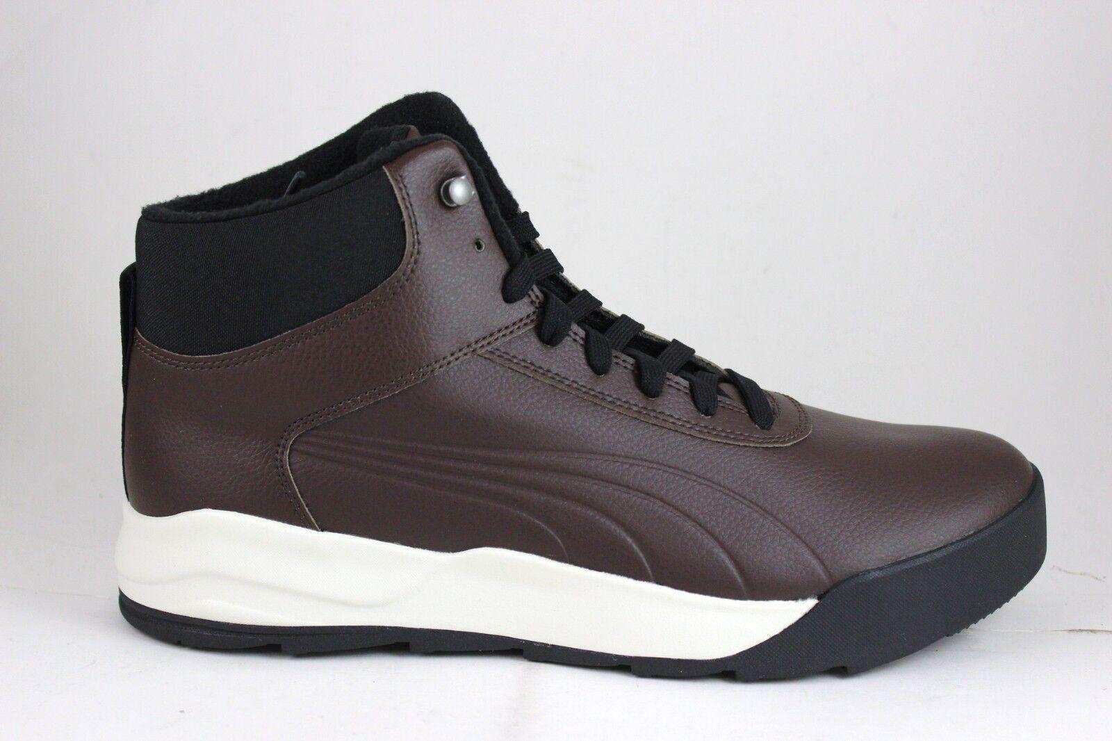 Men's PUMA Desierto Sneaker L Brown Chocolate 362065 03 Brand New