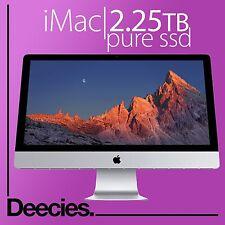 """NUOVO Apple Retina iMac 27"""" 5k 4ghz 4.0ghz i7 skylake 32gb RAM 2tb Flash SSD MAC"""