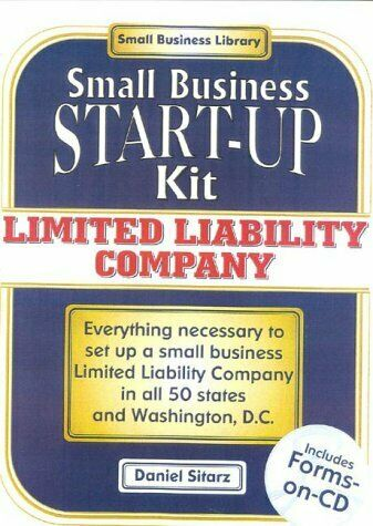 Limited Liability Companies  Small Business Start-Up Kit  Small Busin