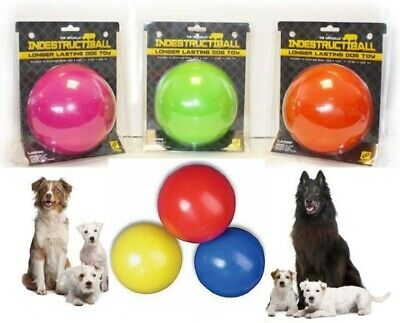 Boomer Indestructible Ball Solid Dog Ball Tough Durable Chase Toy also Floats