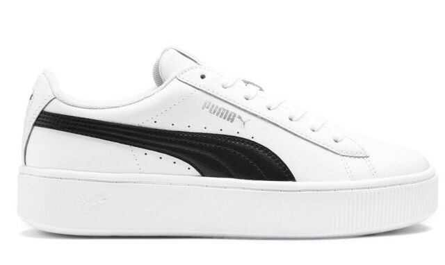 PUMA VIKKY STACKED L scarpe donna sneakers stan pelle smith casual run bianco