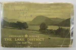 1948-OS-Ordnance-Survey-one-inch-map-The-Lake-District-with-Alfred-Furness-cover