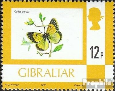 Animal Kingdom Intellective Gibraltar 358iii Mint Never Hinged Mnh 1981 Flora And Flora