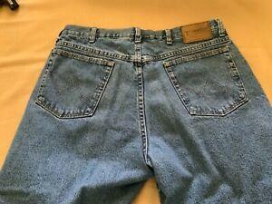 Nuevos Jeans Wrangler Forrado Talla 36x30 Piedra Lavada Color Azul Ebay