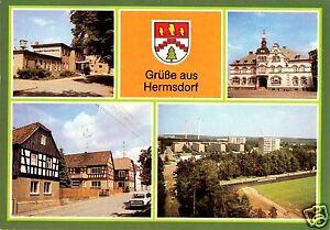 AK-Hermsdorf-Kr-Stadtroda-vier-Abb-gestaltet-Wappen-1985