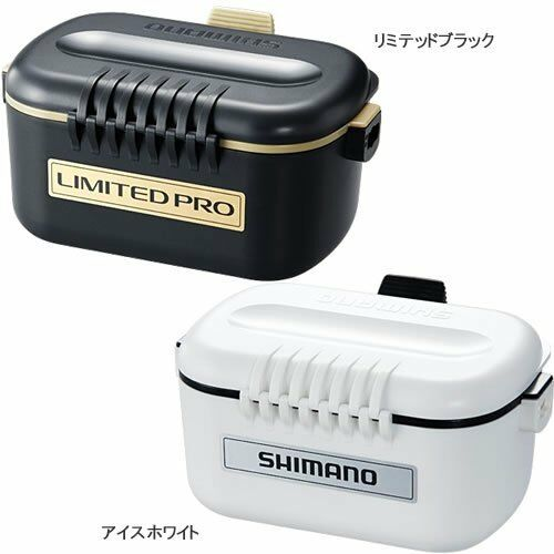 SHIMANO CS-132N Thermo Bait Stainless X Fishing Container Weiß Japan NEW