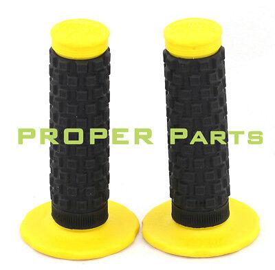Protaper Grip Rubber Grips for Handlebars Motocross Pitbike yellow