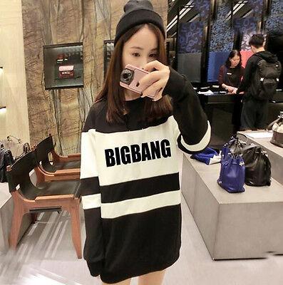 Spring Kpop Bigbang GD TOP Sweater Hoodie Women's Loose Hoodie Girl's T-shirt