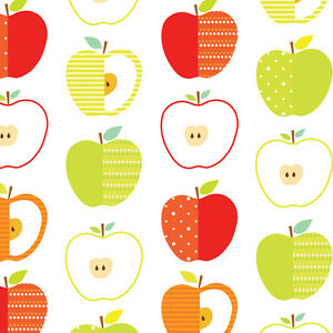 Image Is Loading Contact Paper Kids Apple Pattern Wallpaper Self Adhesive