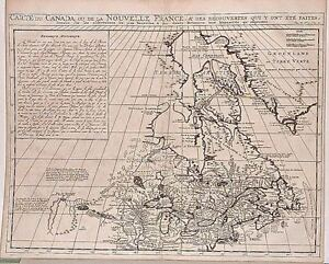 Antique-map-Carte-du-Canada-ou-de-la-Nouvelle-France