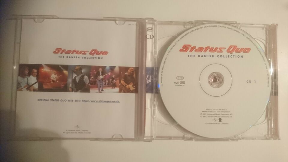 Status Quo: The Danish Collection (Dobbelt CD), rock