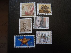 Germany-Rfa-Stamp-Yvert-and-Tellier-N-1472-A-1477-Obl-A3-Stamp-Germany