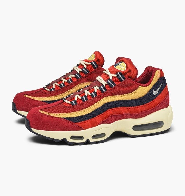 NIKE AIR MAX 95 PRM MEN'S US SIZE 9 STYLE