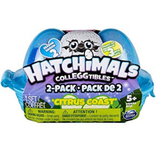 HATCHIMALS COLLEGGTIBLES 2PACK 1 SET CITRUS COAST SEASON 2 TOY