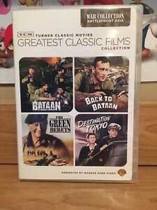 TCM-Greatest-Classic-Films-World-War-II-Battlefront-Asia-DVD-2009-2-Disc