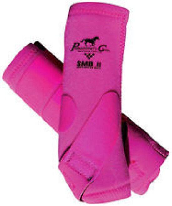 Professionals Choice SMBII Horse Medicine Stiefel Rosa Raspberry Medium