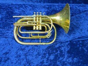 CompéTent ... King 1122 Bb Mellophone Ser#956790 Joue Très Bien Avec Un Grand Roi Sound!-afficher Le Titre D'origine DéLicieux Dans Le GoûT