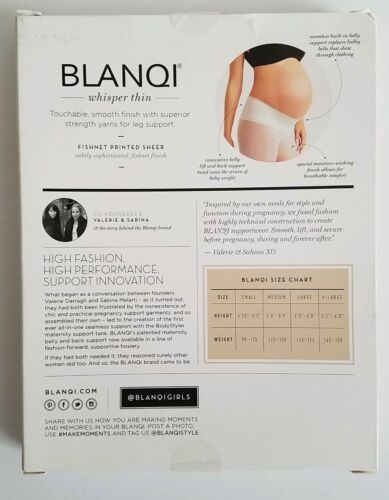 Collant Lowrise Crema Support Supportwear Belly Medium Blanqi Band Maternity SqOpnwP