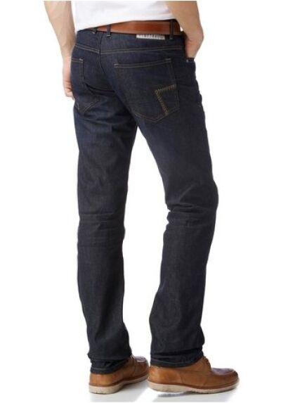 TIMEZONE COAST TZ Jeans Nuovo w30-w36 l32 UOMO DENIM PANTALONI Raw blu Straight Slim