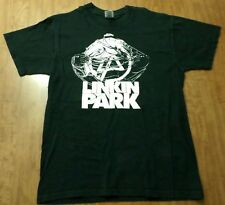 LINKIN PARK med tee metal strands LP logo Minutes to Midnight graphic 2007