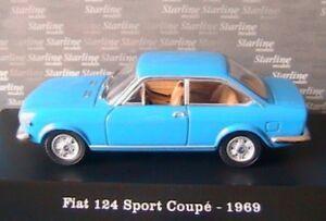 FIAT-124-SPORT-COUPE-1969-BLUE-CANNES-STARLINE-510813-1-43-BLU-DIE-CAST-MODEL