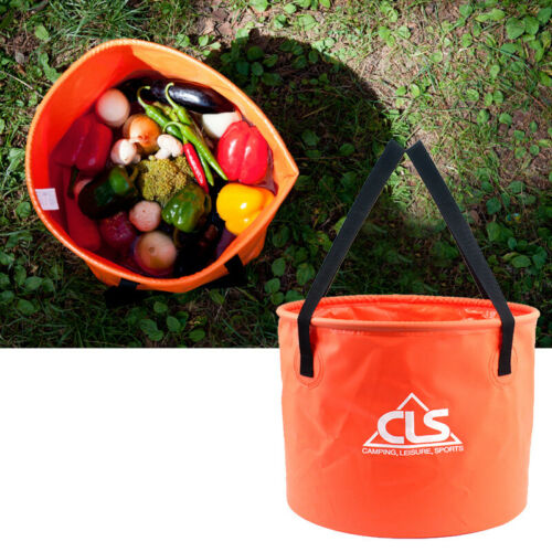 30L Outdoor Camping Large Folding Bucket Washing Portable Collapsible Water Pail